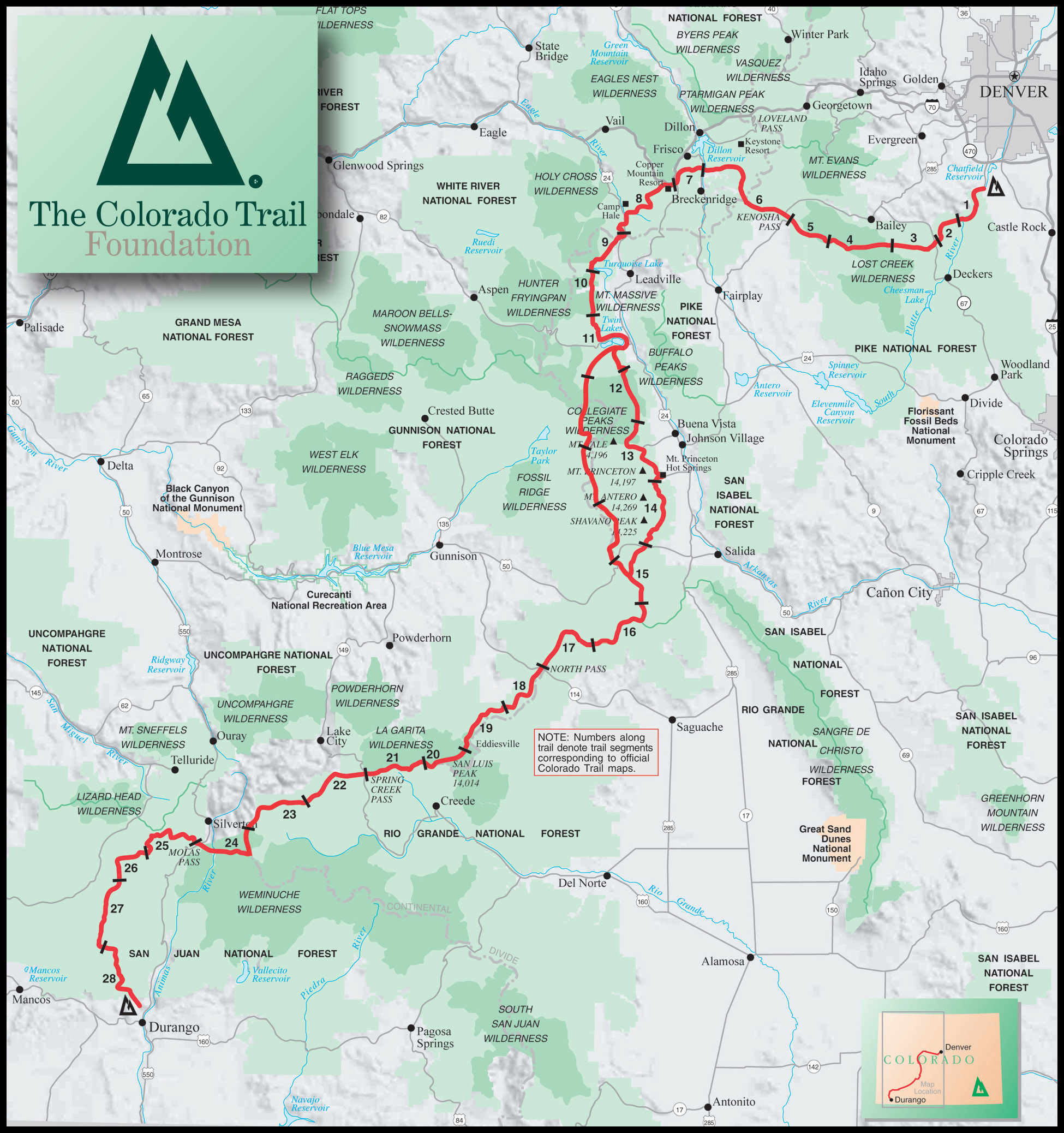 Planning my first US thru hike The Colorado Trail
